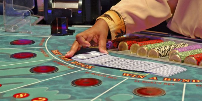 All you need to do is go to an online gamble website and play any kind of Baccarat!