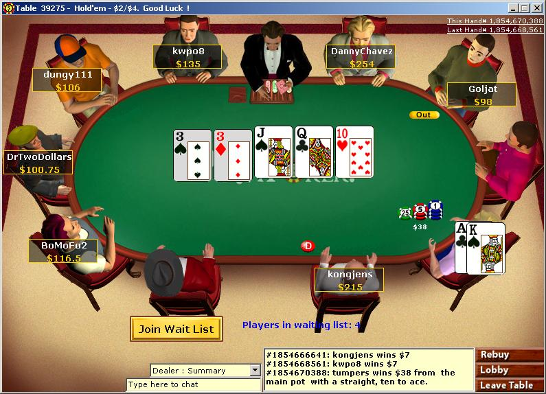 online casino gatherings